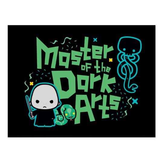 Cartoon Voldemort - Master of the Dark Arts