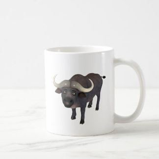 Cartoon Water Buffalo Coffee Mug