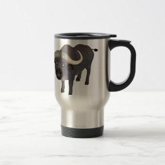 Cartoon Water Buffalo Coffee Mugs
