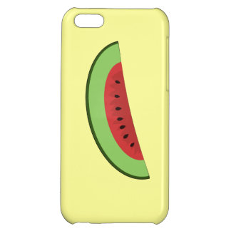Cartoon Watermelon Slice Cover For iPhone 5C