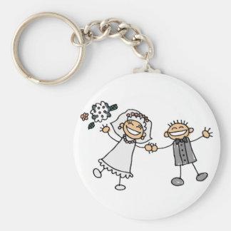 Cartoon Wedding Key Chains