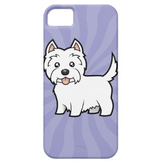 Cartoon West Highland White Terrier Case For The iPhone 5