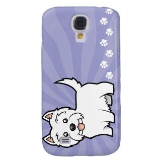Cartoon West Highland White Terrier Galaxy S4 Case