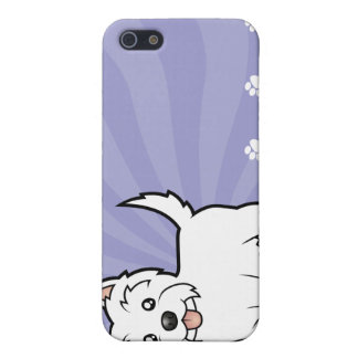 Cartoon West Highland White Terrier iPhone 5 Covers