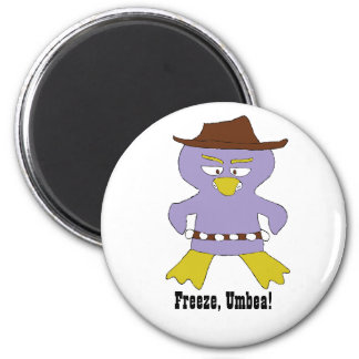 Cartoon Western Penguin Fridge Magnets