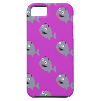 Cartoon Whale, Sea Mammal Cover For iPhone 5/5S