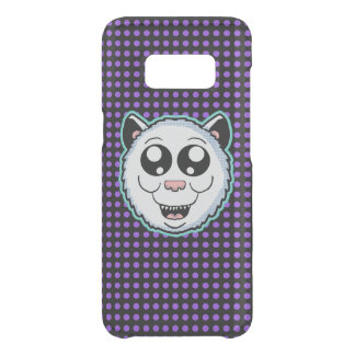 Cartoon White Cat Head Case