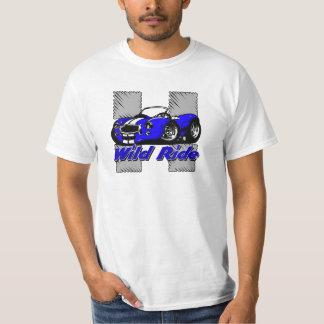 Cartoon Wild Ride Muscle Street Hot Rod Car T-Shirt