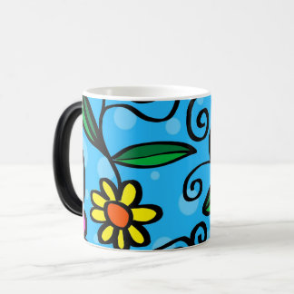 Cartoon Wildflower Coffee Mug