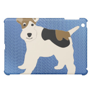 Cartoon Wire Fox Terrier iPad Mini Case