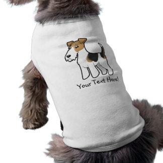 Cartoon Wire Fox Terrier Shirt