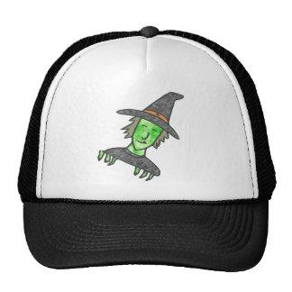 Cartoon Witch Mesh Hat