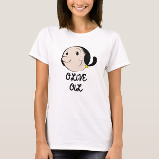 Cartoon Women's Basic T-Shirt