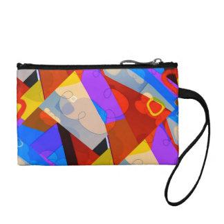 Cartoon World Abstract Pop Clutch Bag