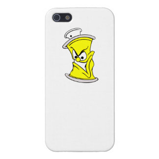 Cartoon Yellow Spray Paint Can iPhone 5/5S Case