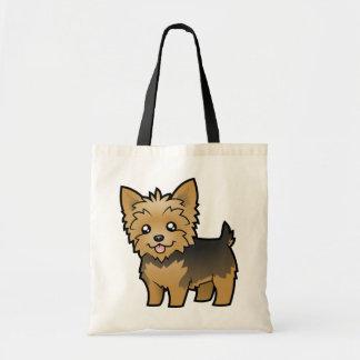Cartoon Yorkshire Terrier (short hair no bow)