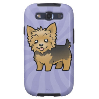 Cartoon Yorkshire Terrier (short hair no bow) Galaxy SIII Cases