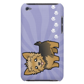 Cartoon Yorkshire Terrier (short hair no bow) iPod Touch Covers
