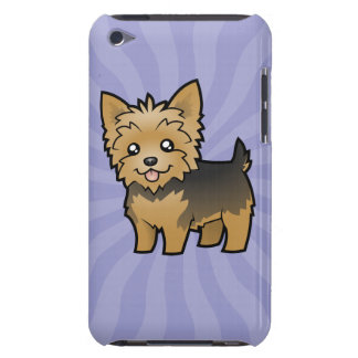 Cartoon Yorkshire Terrier (short hair no bow) iPod Touch Cover