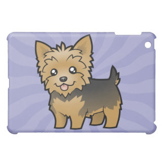 Cartoon Yorkshire Terrier (short hair no bow) Case For The iPad Mini
