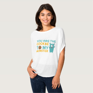 Cartoon You Are The Cookie To My Monster T-Shirt