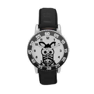 Cartoon Zebra Wristwatch