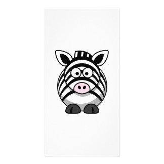 Cartoon Zebra Photo Cards