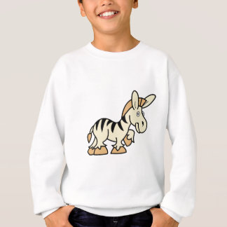 Cartoon Zebra Sweatshirt