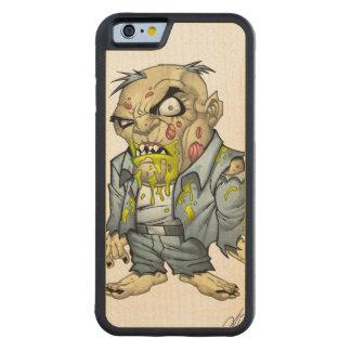 Cartoon Zombie Business Man Art by Al Rio Maple iPhone 6 Bumper