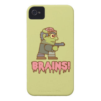 Cartoon Zombie iPhone 4 Cover