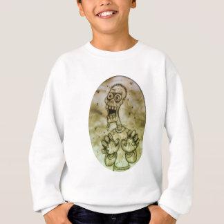 Cartoon Zombie Sweatshirt