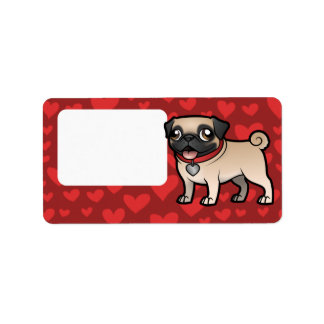Cartoonize My Pet Address Label