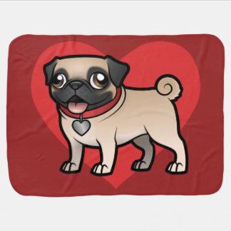 Cartoonize My Pet Receiving Blankets