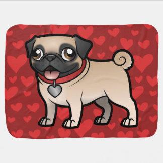 Cartoonize My Pet Baby Blanket