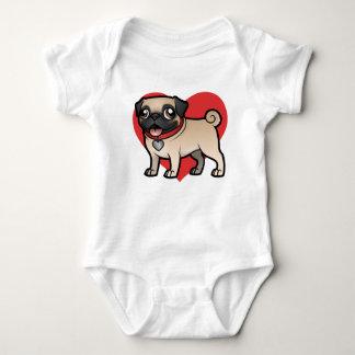 Cartoonize My Pet Baby Bodysuit