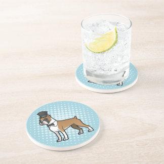 Cartoonize My Pet Beverage Coasters