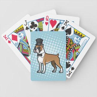 Cartoonize My Pet Bicycle Playing Cards