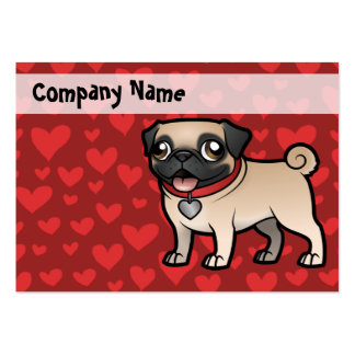 Cartoonize My Pet Large Business Cards (Pack Of 100)