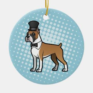 Cartoonize My Pet Christmas Ornament
