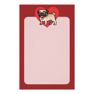 Cartoonize My Pet Customized Stationery