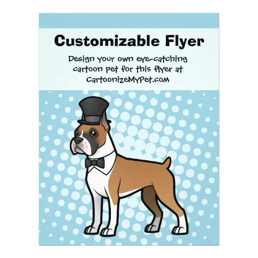Cartoonize My Pet Flyer