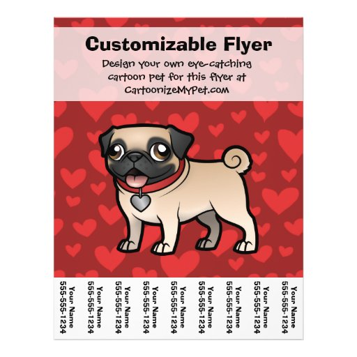 Cartoonize My Pet Custom Flyer
