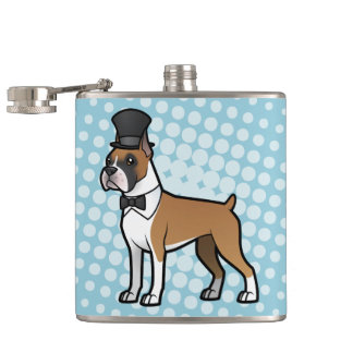 Cartoonize My Pet Hip Flask
