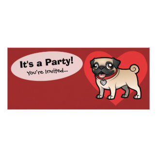 Cartoonize My Pet Personalized Invitations