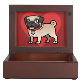 Cartoonize My Pet Keepsake Box