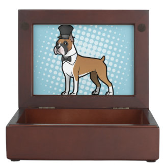 Cartoonize My Pet Keepsake Box