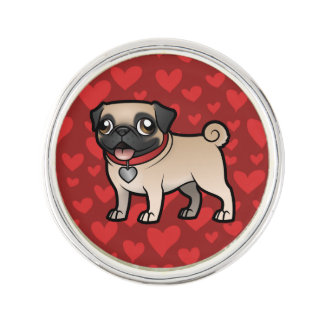 Cartoonize My Pet Lapel Pin