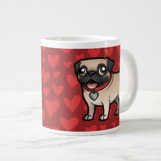 Cartoonize My Pet Large Coffee Mug
