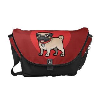 Cartoonize My Pet Messenger Bag