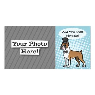 Cartoonize My Pet Personalised Photo Card